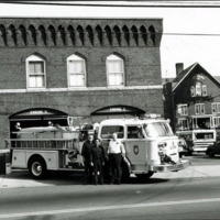 Fire apparatus, Tower Hill Fire Station, 1985