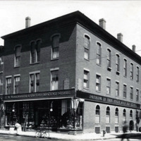 Tolman Building, north corner of Market and Liberty Streets
