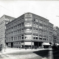 D.B.P. Power Store, Central Avenue and Blake Street, east corner
