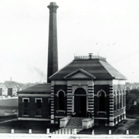 Pumping Station Lynn Works Walnut Street, circa 1879