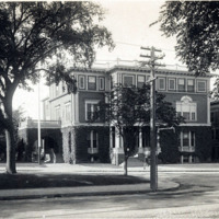 Oxford Club, showing delta of Washington Square