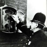 Lynn Policeman with callbox