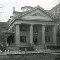 Home for aged women, North Common Street, 1898