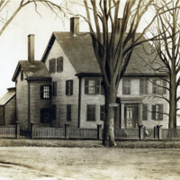 Joseph Fuller House, corner of Liberty Square and Front Street (now Broad), about 1800