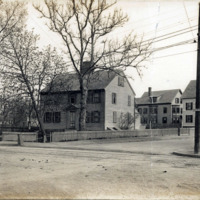 Mansfield or Breed House, corner of Boston and Cedar Streets