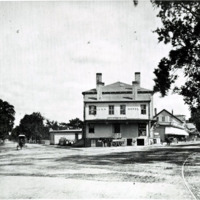 Lynn Hotel, junction of Western Avenue and North Common Street, circa 1880