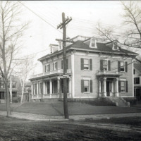 J.N. Buffum House, while he was mayor, Lawton Avenue