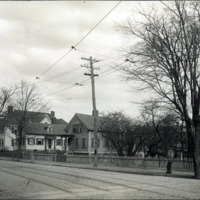 Hiram Breed House, while he was mayor; corner of Breed and Lewis Streets