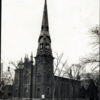 First Congregational Church, corner of South Common and Vine Street