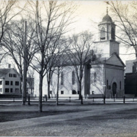 Second Universalist Church, Old Tunnel Remodeled, corner of Commercial Street and South Common