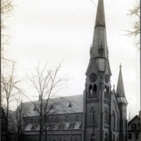 First Baptist Church, corner North Common and Park Street
