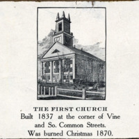 First Church, Vine & South Common Streets