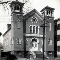 Congregation Ahabat Sholom, Church Street near Summer Street