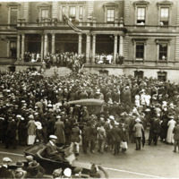 First contingent, first draft, addressed at City Hall, Sept. 5, 1917