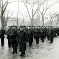 National Naval Volunteers of Lynn on South Common Street, April 1, 1917