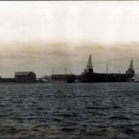 Waterfront, Stevens and Newhall Wharf to Lynn Gas and Electric Company