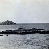 Egg Rock from nearest shore