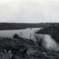 Breed's Pond, from Summit of Lantern Rock, 1903