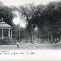 Common and bandstand Lynn, 1905