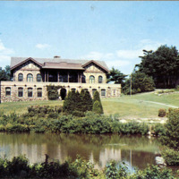 Happy Valley golf course, club and pond