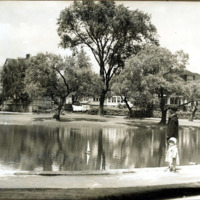 Goldfish Pond, Lafayette Park and Broomfield Street