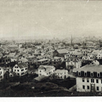 View in Lynn, Mass., 1876, from High Rock, looking south easterly