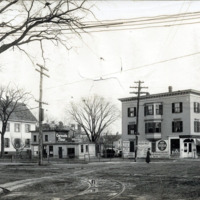 Hospital Square from North Franklin Street