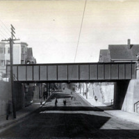 Chatham Street, north, under the B & M Tracks