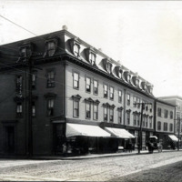 Union Street and Pinkham Street, south corner