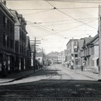 Ireson Street from corner of Union, looking northwest towards Essex