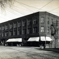 Summer Street and Pleasant Street, east corner