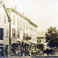 Union Street, showing Bay State House about 1880