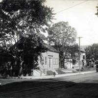 Franklin and Hanover Streets, west corner