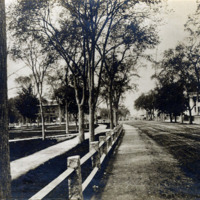 North Common Street and west end of Common about 1880