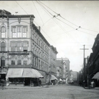 Munroe and Market Streets, 1905