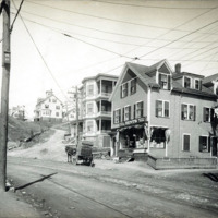 North Franklin Street showing junction with Forest Hill Avenue and Lover's Leap Avenue