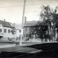 Western Avenue and Franklin Street, west corner