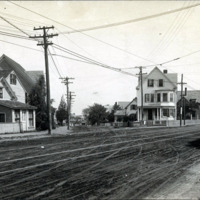 Western Avenue and Maple Street, east corner