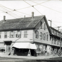 Western Avenue and Chestnut Street, west corner