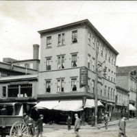Washington and Monroe Streets, west corner