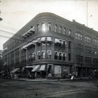 Washington and Munroe Streets, east corner