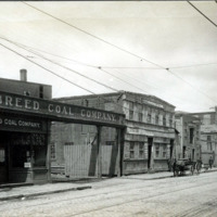 Washington Street, west side, from Breed Coal Company to point opposite Amity Street