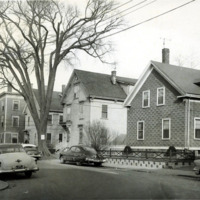 School Street, 1958, facing Smith Street