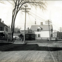 Centre Street and Marion, south corner