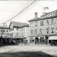 Central Avenue between Liberty Street and junction of Washington Street and Central Avenue
