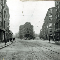 Central Avenue and Willow Street, 1898