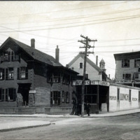 Blake Street and Mulberry, north corner
