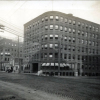 Broad and Washington Streets, east corner