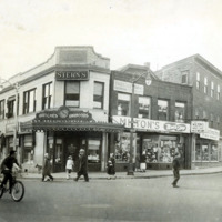 Union and Baldwin Streets, 1958