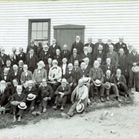 Old boys of Ward Four, 1895, at Nahant